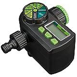 DRAPER 36750-Elektronischer Kugelhahn Wasser Timer-schwarz