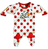 Le Tour de France Official Collection Baby Boy's Best Climber Bodysuit, white