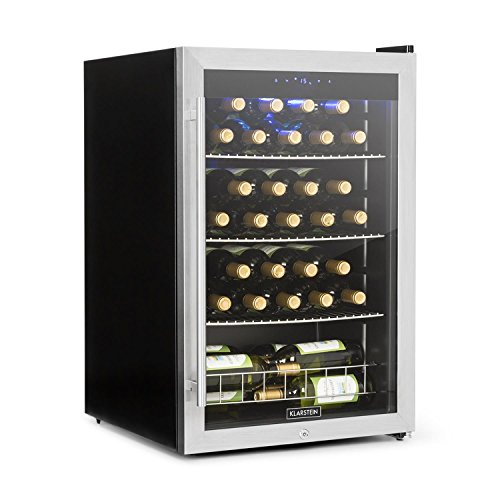 Klarstein Falcon Crest • Frigo per vino • Frigorifero • Cantinetta • 128 litri di capacità...