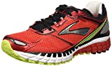 Brooks Herren Aduro 3 Laufschuhe Rot (HighRiskRed/Black/Nightlife) 45.5 EU