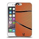 Head Case Designs Basket Palle Da Collezione Cover Morbida In Gel Per Apple iPhone 6 / 6s