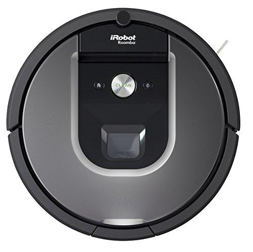 iRobot Roomba 960 - Robot aspirador, rendimiento de limpieza avanzado, limpia varias habitaciones, conexión Wi-Fi, para el pelo de mascotas, plata