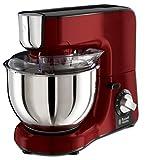 Russell Hobbs Küchenmaschine Desire, 1000W, planetarisches Rührsystem, 3 Rührwerkzeuge & 1,5l Glas Standmixeraufsatz, Edelstahl-Rührschüssel (2,5kg Rühr-/ 2kg Hefeteig), Zerkleinerer & Mixer 23480-56
