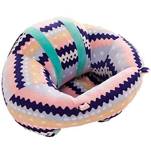 HIZLJJ Sede del Bambino della Protezione di Sostegno Sit sofà Molle del Cuscino della Poltrona di Sicurezza dell'automobile del Cuscino della Peluche Peluche Infantile del Regalo U Cuddle Forma