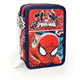 Marvel Spiderman 40224 Astuccio, 3 Scomparti, Poliestere, Multicolore