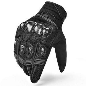 INBIKE Motorrad handschuhe Herren Touchscreen Warm Atmungsaktivität Aufprallschutz Hartschalen-Schutz für Motorrad Radfahren Camping Outdoor 16