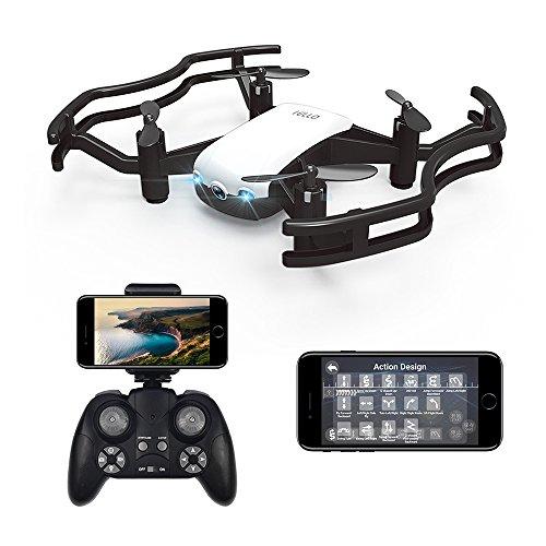 HAOXIN F21G IELLO FPV RC Drone Quadcopter con Videocamera HD 720P Video in Diretta, Flusso Ottico...