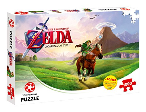 Winning Moves Puzzle The Legend Zelda Ocarina of Time, 1000 Pezzi, 29506
