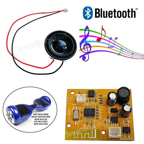 Hoverboard Bluetooth PCB & Speaker Kit - Adatto a Swegway Hoverboard - Modulo Bluetooth