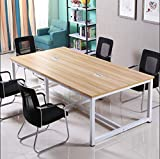 xinrongqu Table De Conférence     Simple, Bureau Personnel Simple Et Moderne   240 * 120 * 74Cm B