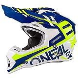 O'Neal 2Series RL Spyde Motocross MX Helm Enduro Trail Quad Cross Offroad, 0200, Farbe Blau, Größe L