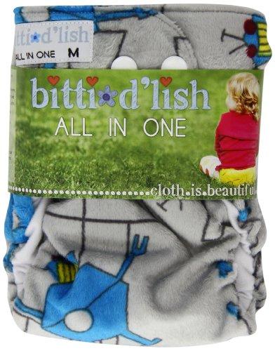 Itti Bitti-Copri pannolino D'Lish All In One, misura M, Wo-bott)