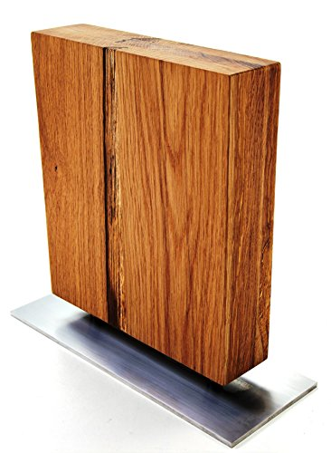 lacefix Magnet Messerblock Massivholz