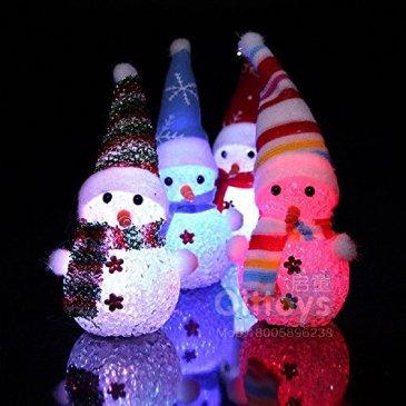 ILOVEDIY Bonhomme de Neige Lumineux Decoration Noel Sapin Suspendu Ornament Led Exterieur Interieur Lumineuse Chambre Enfant