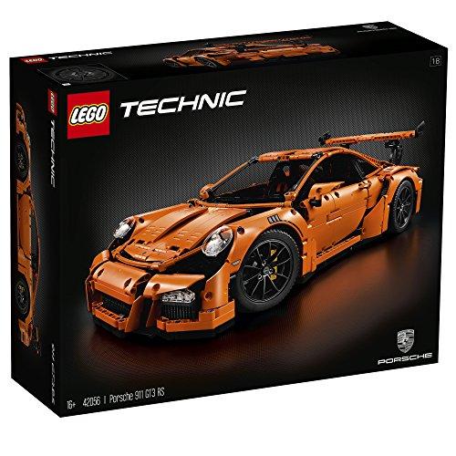 LEGO Technic Porsche 911 GT3 RS 2704pieza(s) - juegos de construcción (Niño, Negro, Naranja)