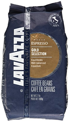 Lavazza Espresso coffee beans (a balanced flavour, full-bodied flavour, milk chocolate, vanilla coffee with aromas of dried fruit and chocolate, fresh fruit and petals)