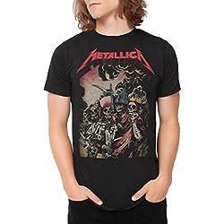 Ill Rock Merch Metallica Four Horsemen Camiseta