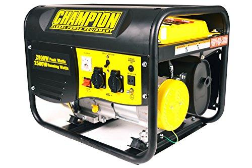 Champion 2800W Gasolina Generador electrógeno de emergencia Generadores de corriente 220V EU