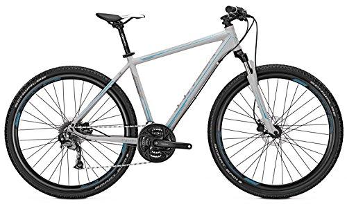Crossbike Univega TERRENO 3.0 Herren 28\' 24-Gang Scheibenbremse, Rahmenhöhen:60;Farben:Coolgrey matt