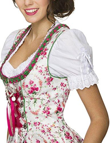 Stockerpoint Damen Trachtenbluse Mieder Ramona Weiß (Weiss), 34 - 6