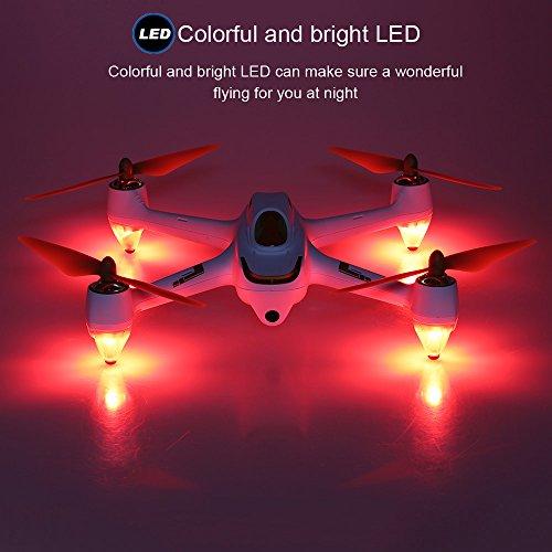 Hubsan H501S X4 Brushless FPV Quadricoptère Drone GPS avec Caméra 1080P HD 5.8Ghz(H501S Blanc) 27