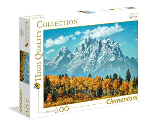 Clementoni- Grand Teton in Fall High Quality Collection Puzzle, Multicolore, 500 pezzi, 35034