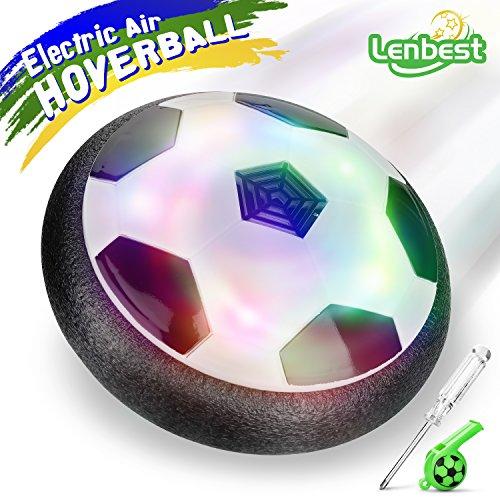 Lenbest Hover Ball Calcio da Interno, Calcio Sportivo per Bambini con paracolpi in Schiuma e potenti...