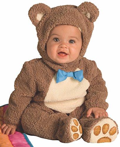Rubies - Disfraz de Oso para niños, talla bebé 1-2 años, Marrón (885356-T)