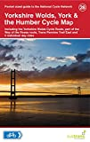 Yorkshire Wolds, York & the Humber Cycle Map 28 - Including Yorkshire Wolds Cycle Route, part of the Way of the Roses route, Trans Pennine Trail East and 5 individual day rides