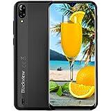 Mobile Phone, Blackview A60 (2019) UK SIM-Free Smartphones Unlocked with 6.1\\ Waterdrop screen, Phone Android 8.1 Oreo 1GB RAM+16GB ROM, 4080mAh, 5+13MP Dual Rear Camera - Black