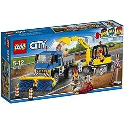 Lego 60152 City Straßenreiniger und Bagger, Bausteinspielzeug