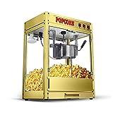 KJRJBD Popcorn-Hersteller-Maschinen-neues Kapazitäts-Heißöl-vollautomatisches fettfreies Gesundheits-Gold 50 * 35 * 68CM