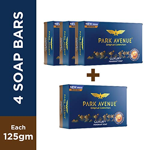 Park Avenue Luxury Fragrant Soap, 125g (BUY 3 GET 1)