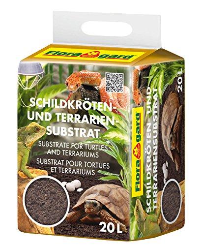 Floragard - Sostrato terrario e tartarughe, 20 l