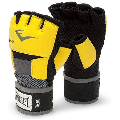 Everlast, Guanti 4355 Ever-Gel Wraps, Giallo (Gelb), S