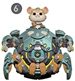 "Funko- Figurines Pop Vinyl: Games: Overwatch S5: 6"" Wrecking Ball Collectible Figure, 37432, Multi"