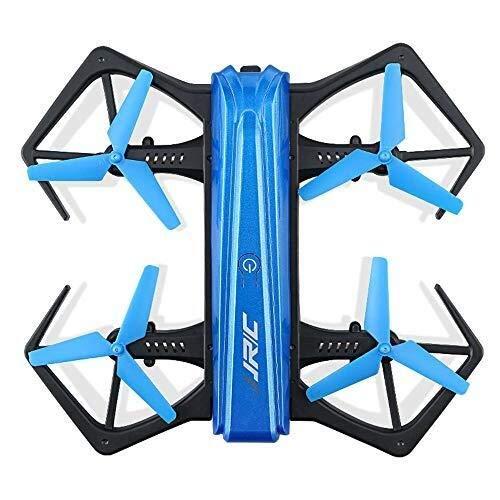 FLYSXP Drone Pieghevole, Drone Videocamera HD, modalità Wireless Headless di Trasmissione Dell'immagine WiFi Pieghevole Drone remoto