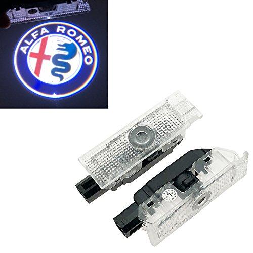 Inlink 2 pezzi Logo illuminazione porta 12 V High Definition portiera auto proiezione luce