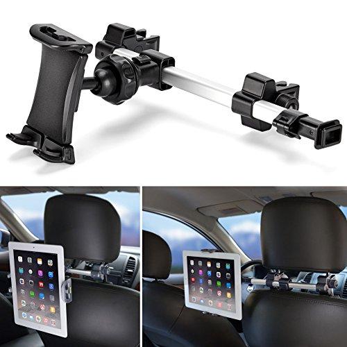 Supporto Auto, iKross Universale Supporto Poggiatesta per Tablet da 7-10.2 pollici, Poggiatesta...