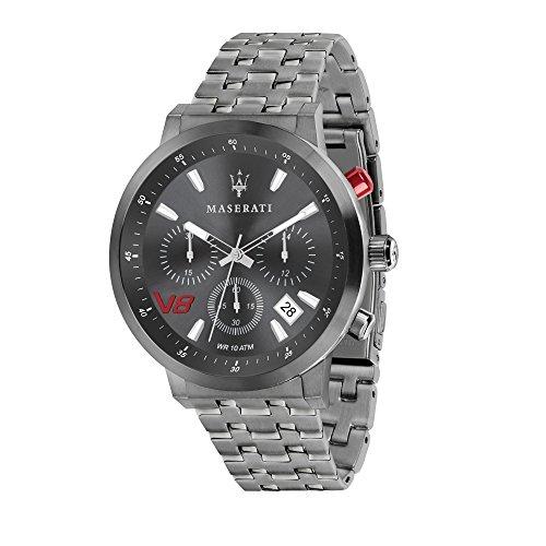 MASERATI Orologio Cronografo Quarzo Uomo con Cinturino in Acciaio Inox R8873134001