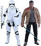 Hot Toys HT9026261: 6Scale Finn e Primo Ordine Riot Control Storm Trooper Set Star Wars The Force Awakens Figure