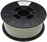 3D Prima PrimaValue PLA Filament, 1.75 mm, 1 kg Spool, White