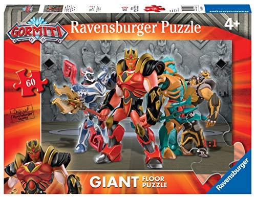 Ravensburger 03011 Gormiti A Puzzle, Giant, 60 Pezzi