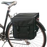 Beluko Classique Double Sacoche de Vélo (Noir)