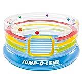 Intex - Saltador hinchable Intex + 12 bolas - 182x86 cm - 48264NP