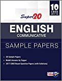 Super 20 English Communicative Sample Papers Class 10th CBSE 2017-18