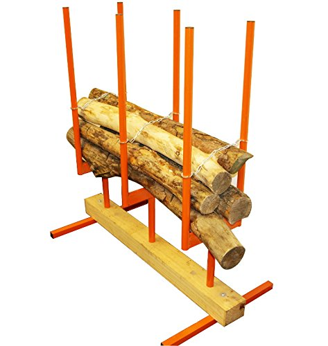 The Forest Master Bulk Log Stand 3 Multi Log Saw Horse Chainsaw is handy. The design is simple but it enables you to slice through multiple logs at a time. It is also designed to hold the logs securely while still maintaining a stable stance. For those who have simple tasks to attend to and do not want to spend too much money can rely on this model. It can be stored easily and the metal used is durable. For domestic or light commercial work this model would adapt well. Take a bargain and see if it works for you.