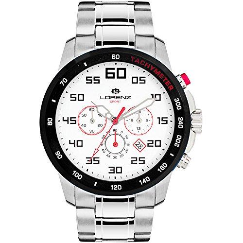 orologio cronografo uomo Lorenz Granpremio casual cod. 030048DD