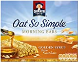 Quaker Oat So Simple Morning Bars Golden Syrup (5x35g) - Pack of 6