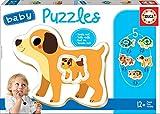 Educa Borrás- domésticos Baby Puzzles Animales (17573)